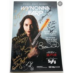 Wynonna Earp Syfy IDW Poster Signed by 9 Cast/Creative Team