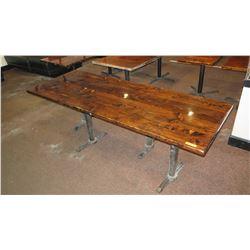 "Rectangular Wooden Table 96"" X 35"""