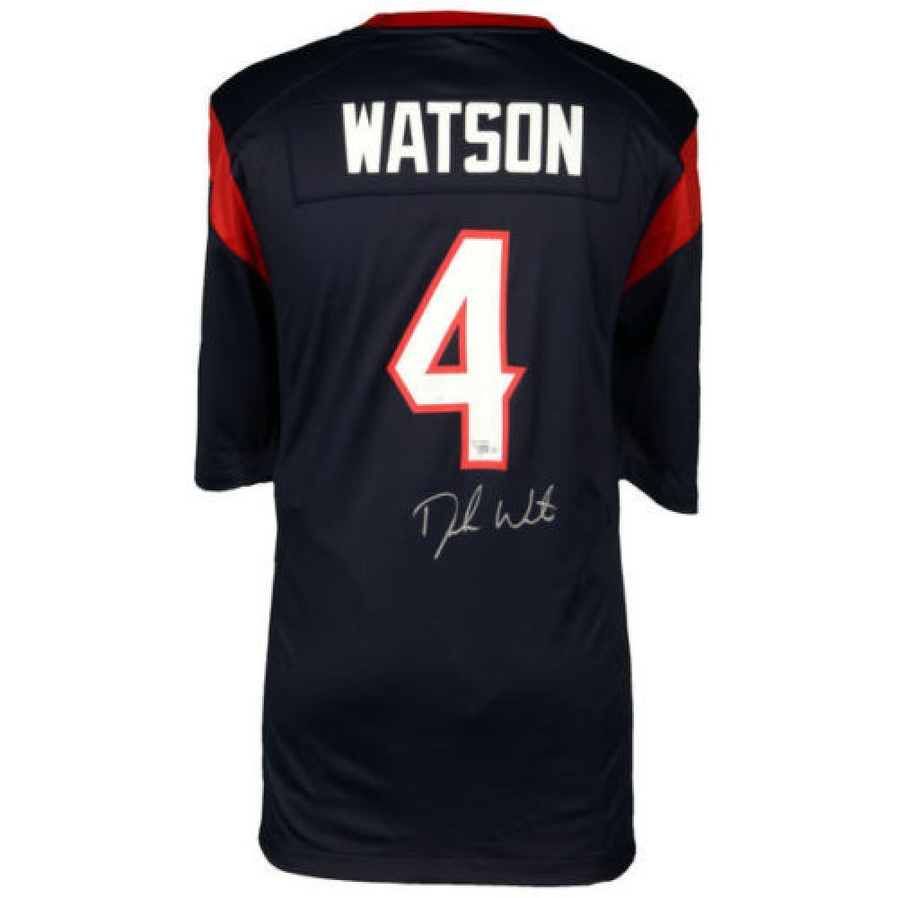 best service 8e991 69e09 Deshaun Watson Signed Texans Jersey (Fanatics)