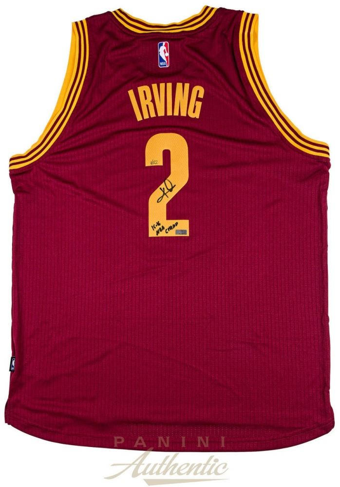 d4fc381c39cf8 Image 1 : Kyrie Irving Signed Cavaliers Jersey Inscribed