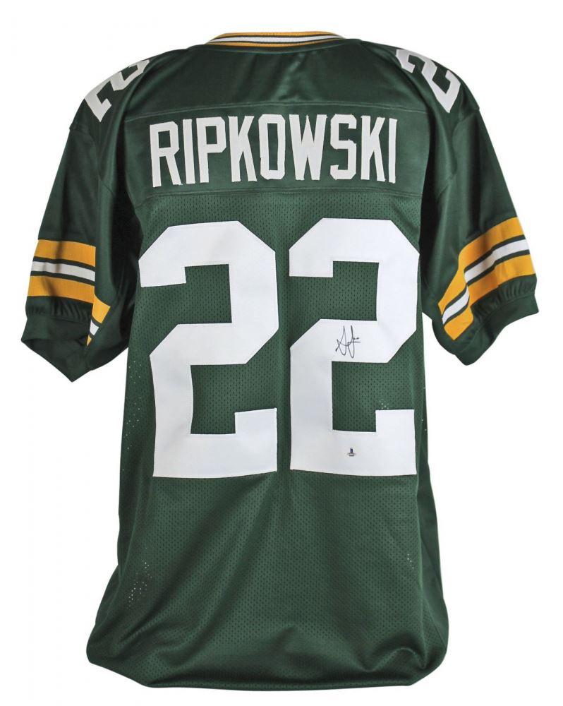 Aaron Ripkowski Signed Packers Jersey (Beckett COA)