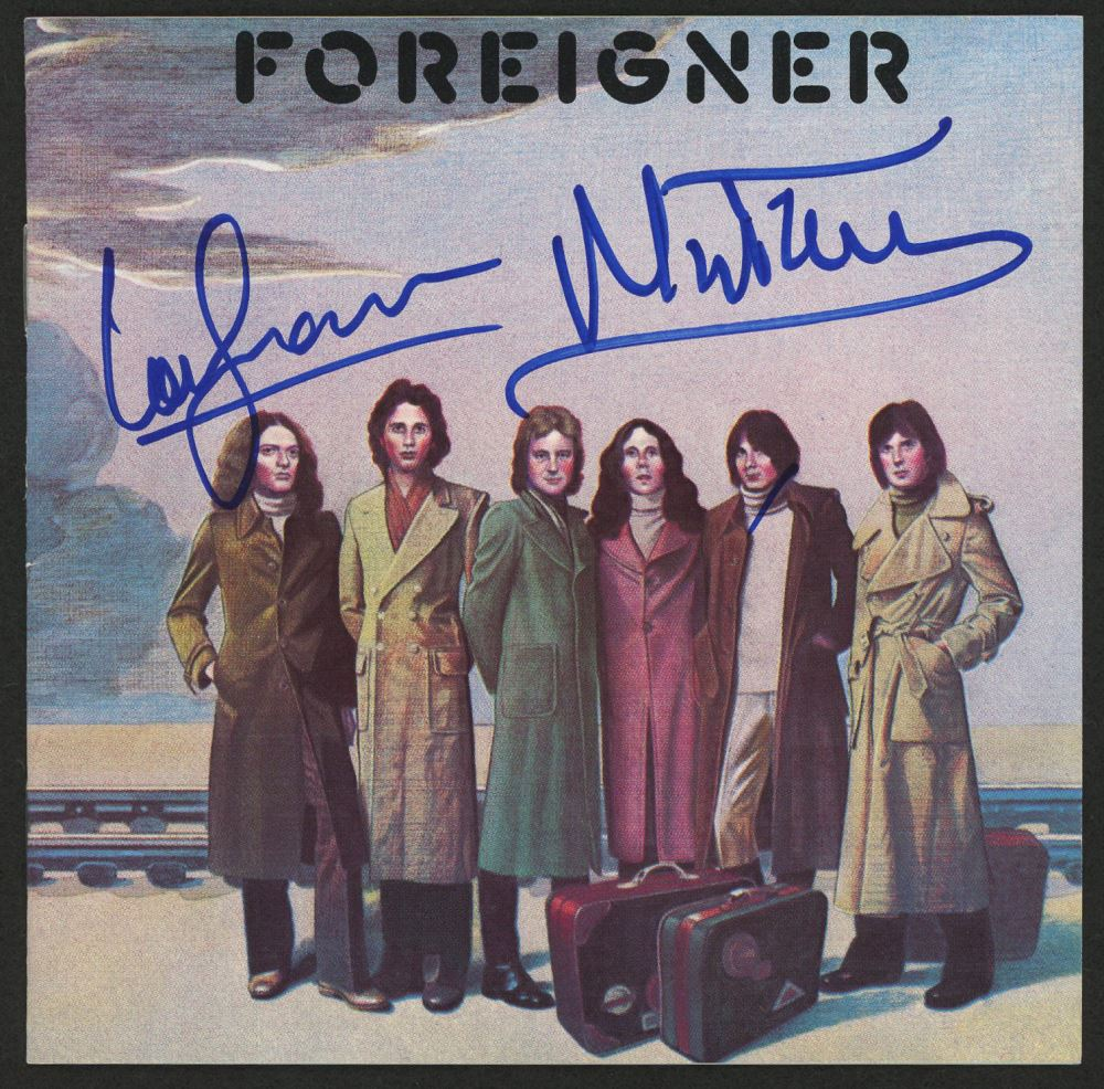 Rock & Pop Lou Graham Hand Signed Foreigner Photo Autograph