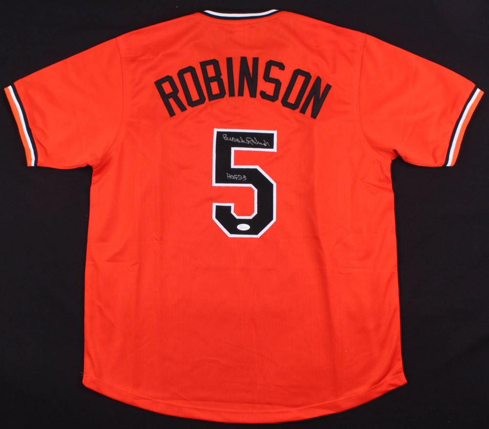 2e5896968 Image 1   Brooks Robinson Signed Orioles Jersey Inscribed