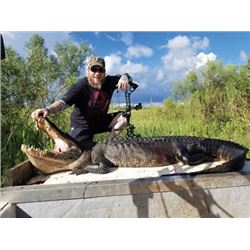 #WED-06 Alligator Hunt, Louisiana