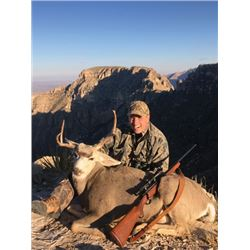 #WED-09 Ugly Buck Hunt, Texas
