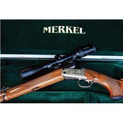 #THD-06 Merkel Model K3 Jagd Stutzen, .30-06