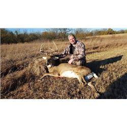 #THD-08 Whitetail Deer Hunt, Kansas