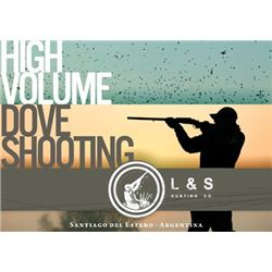 #FR-07 High Volume Dove Shooting for SIX Hunters, Argentina
