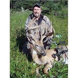 #FR-20 Archery Whitetail Deer Hunt, Alberta