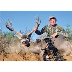 #SB-03 Desert Mule Deer Hunt, Mexico