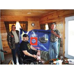 #SB-09 Wounded Veteran Black Bear Hunt, Maine