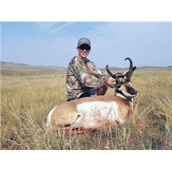 #SA-02 Archery Antelope Hunt, Wyoming