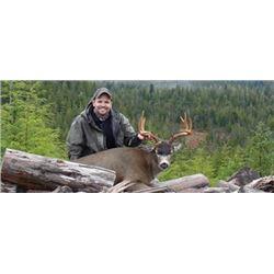 #SA-04 Columbia Blacktail Deer Hunt, Oregon