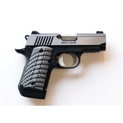 #SA-13 Kimber Micro 9 Eclipse Handgun (9mm)
