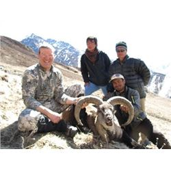 #SA-14 Himalayan Blue Sheep & Tahr Hunt, Nepal