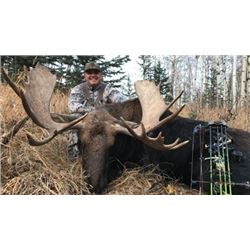 #SA-15 Archery Moose Hunt, Alberta