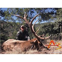 #SA-25 Muzzleloader Elk Hunt (with Archery Option) with Landowner Tag Included, New Mexico