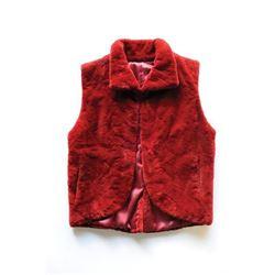 #SLA-07 Holloway Furs Red Vest