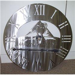 #SLA-13 Grand Slam Club/Ovis Custom Clock