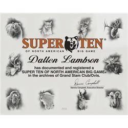 #SLA-16 Ten Super Slam® Canvas Prints by Dallen Lambson