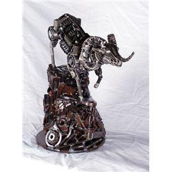 #SLA-21 Wild Sheep Metal Art