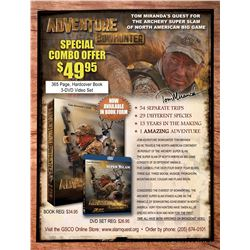 #SLA-47 Adventure Bowhunter Combo, Tom Miranda (Book/DVD)