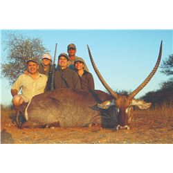 754 #SLA-54 Plains Game Hunt, South Africa (with Taxidermy Credit)
