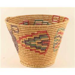 Mescalero Apache Tall Basket