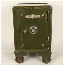 Antique Field Parker Co. Safe
