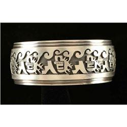 Sterling Symbols Cuff
