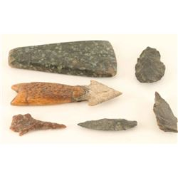 Prehistoric Collection of Points