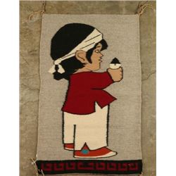 Navajo Figural Rug