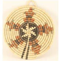 Hopi coiled plaque