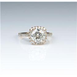 Brilliant 1.86 Carat Diamond Ring