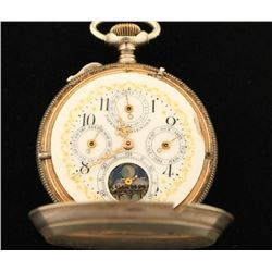 Continental Watch Co Pocket Watch