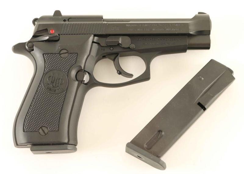 Beretta 84 FS Cheetah  380 ACP SN: H46805Y