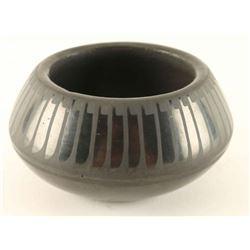 San Ildefonso Blackware Pot