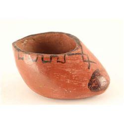 Maricopa Pottery Shoe