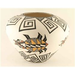 Large Acoma Beetle Pot