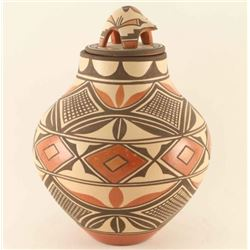 Zia Polychrome Lidded Jar