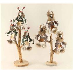 Lot of 2 Tree Kachinas