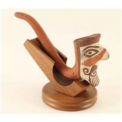 Zia Pottery Pipe
