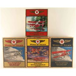 'Wings of Texaco' Die Cast Airplanes