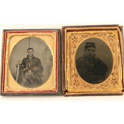Lot of 2 Tintypes