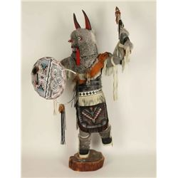 Large Wolf Kachina