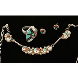 Zuni Jewelry Set