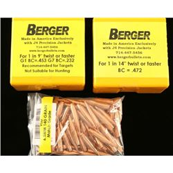 Lot of Berger Bullets