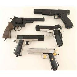 Lot of 5 Daisy BB Pistols