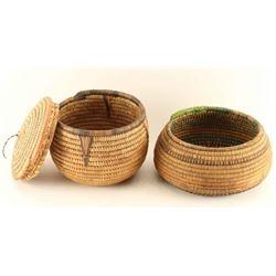 Lot of 2 Southwest Baskets
