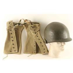 WWII Helmet & Leggings